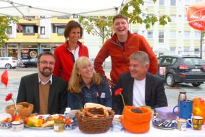 Elke Zehetner, Markus Kleinen, Dr. Albert Thurner, Angelica Dullinger, Michael Asam