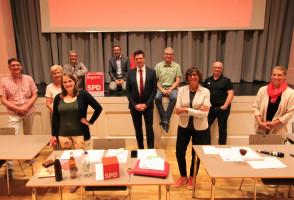 Das neue Führungsteam der SPD Penzberg