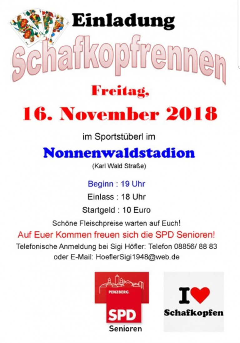 20181116 Schafkopfrennen
